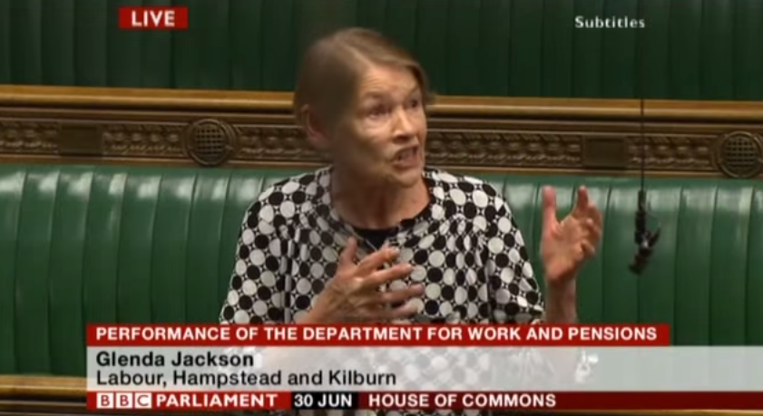 Glenda Jackson MP